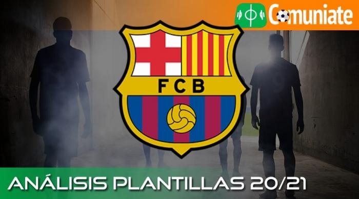 Análisis de la plantilla y recomendables del Fútbol Club Barcelona temporada 20/21.