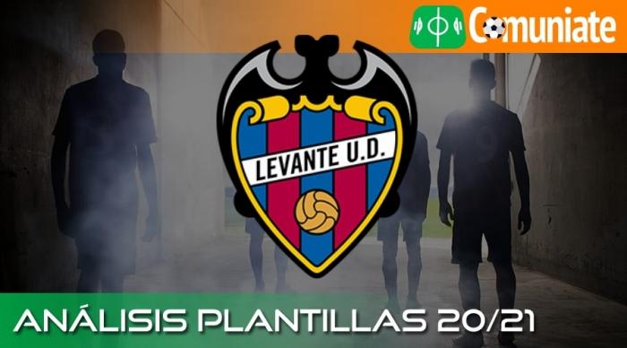 Análisis de la plantilla y recomendables del Levante U. D. temporada 20/21.