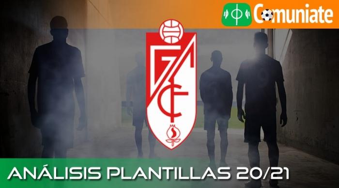 Análisis de la plantilla y recomendables del Granada C.F. temporada 20/21.