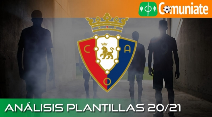 Análisis de la plantilla y recomendables del C. A. Osasuna temporada 20/21.