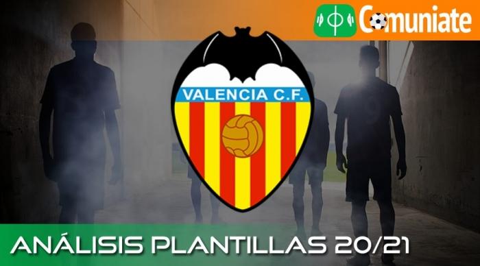 Análisis de la plantilla y recomendables del Valencia Club de Fútbol temporada 20/21.