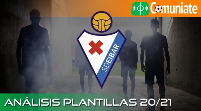 Análisis de la plantilla y recomendables de la Sociedad Deportiva Eibar temporada 20/21.