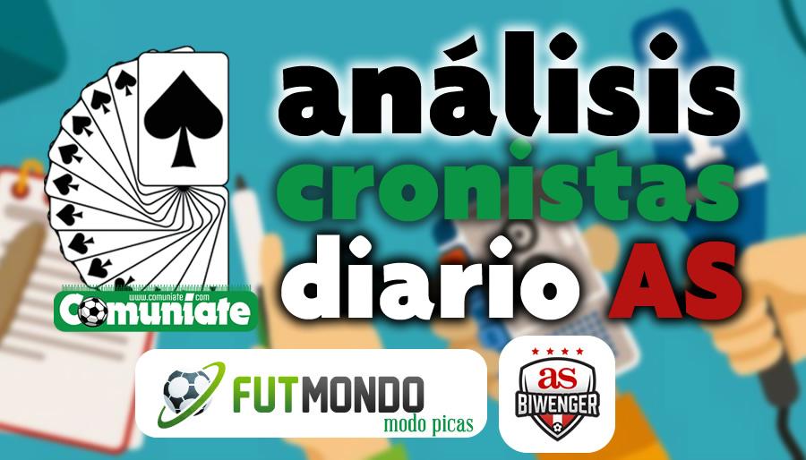 CRONISTAS AS