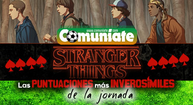 Stranger Things de la Jornada 13