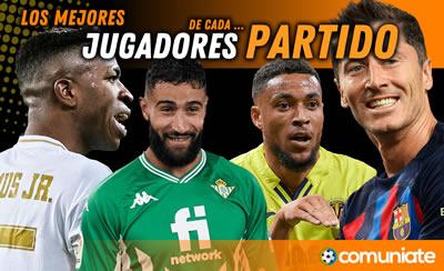 Los mejores jugadores de la jornada 10: Chimy,  Gayà, Joselu, RDT, Muniain, Morales, Alaba, Trejo, Luis Suárez