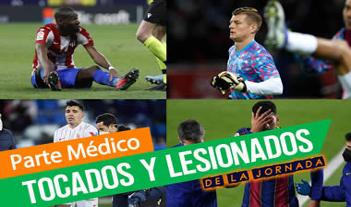 Parte médico de la jornada 10: Lemar, De Jong, Valverde, Mustafi, Oscar Gil, Gonalons, Trigueros, Gerard Moreno, Foyth, ...