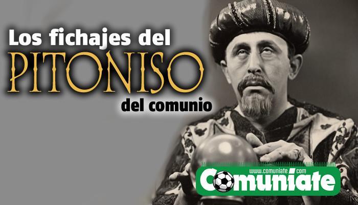 PITONISO COMUNIO