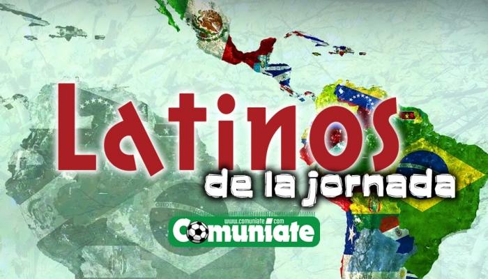 Los mejores Latinos de Comunio: Jornada 20
