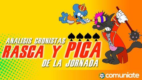 Rasca y Pica: Análisis de los cronistas de la jornada 35.