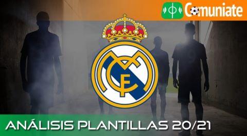 Análisis ACTUALIZADO de la plantilla y recomendables del Real Madrid C.F. temporada 20/21.