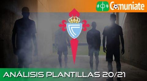 Análisis ACTUALIZADO de la plantilla y recomendables del Real Club Celta de Vigo temporada 20/21.