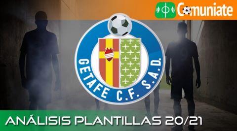 Análisis de la plantilla y recomendables del Getafe C. F. temporada 20/21.