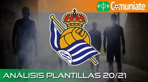 Análisis ACTUALIZADO de la plantilla y recomendables de la Real Sociedad de Fútbol temporada 20/21.