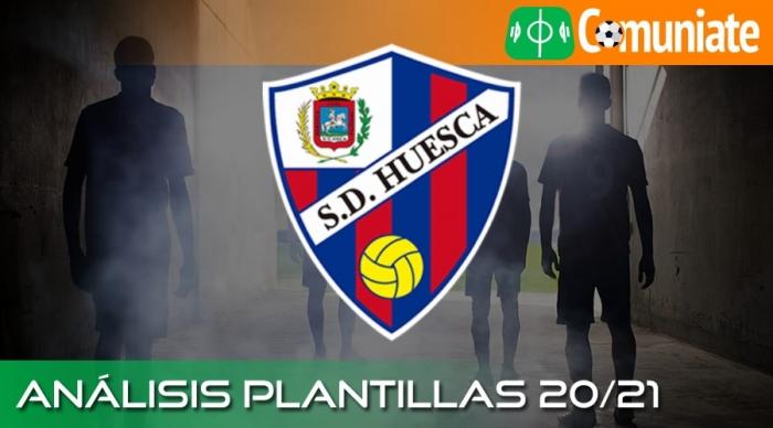 Análisis de la plantilla y recomendables del Huesca temporada 20/21.
