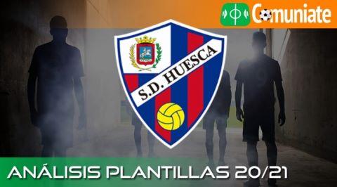 Análisis ACTUALIZADO de la plantilla y recomendables del Huesca temporada 20/21.