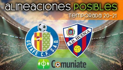 Alineaciones posibles y previa de la Jornada entre Getafe y Huesca. Jornada 19.