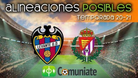 Alineaciones posibles y previa de la Jornada entre Levante y Valladolid. Jornada 20.