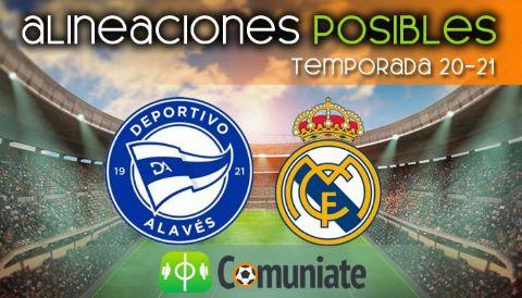 Alineaciones posibles y previa de la Jornada entre Alavés y Real Madrid. Jornada 20.