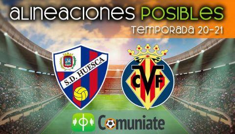Alineaciones posibles y previa de la Jornada entre Huesca y Villarreal. Jornada 20.