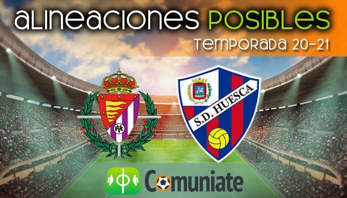 Alineaciones posibles y previa de la Jornada entre Valladolid y Huesca. Jornada 21.