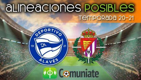 Alineaciones posibles y previa de la Jornada entre Alavés y Valladolid. Jornada 22.