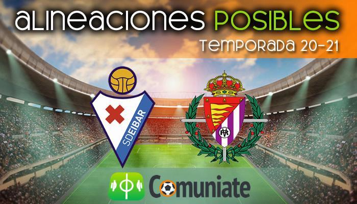 Alineaciones posibles y previa de la Jornada entre Eibar y Valladolid. Jornada 23.