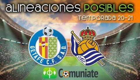 Alineaciones posibles y previa de la Jornada entre Getafe y Real Sociedad. Jornada 23.