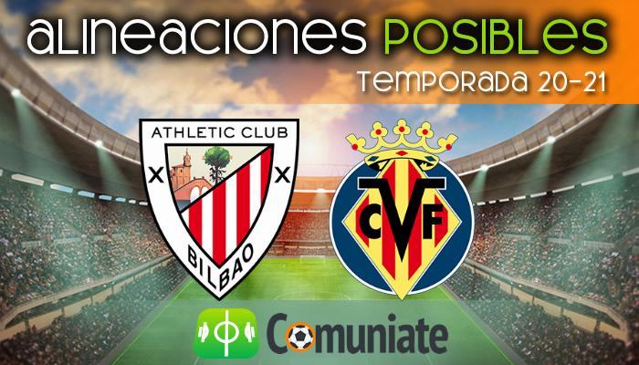 Alineaciones posibles y previa de la Jornada entre Athletic y Villarreal. Jornada 24.