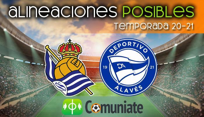 Alineaciones posibles y previa de la Jornada entre Real Sociedad y Alavés. Jornada 24.