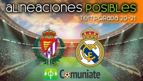 Alineaciones posibles y previa de la Jornada entre Valladolid y Real Madrid. Jornada 24.