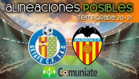 Alineaciones posibles y previa de la Jornada entre Getafe y Valencia. Jornada 25.