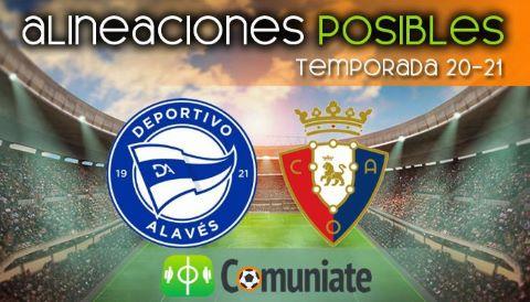 Alineaciones posibles y previa de la Jornada entre Alavés y Osasuna. Jornada 25.