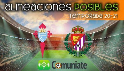 Alineaciones posibles y previa de la Jornada entre Celta y Valladolid. Jornada 25.