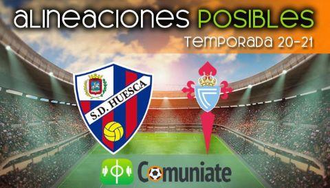 Alineaciones posibles y previa de la Jornada entre Huesca y Celta. Jornada 26.