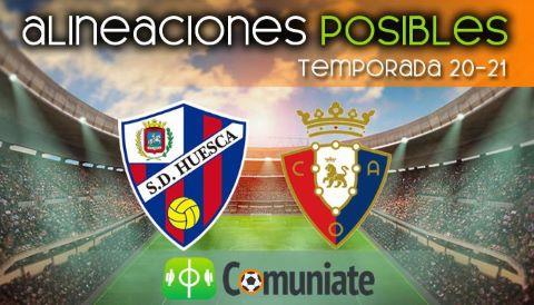 Alineaciones posibles y previa de la Jornada entre Huesca y Osasuna. Jornada 28.