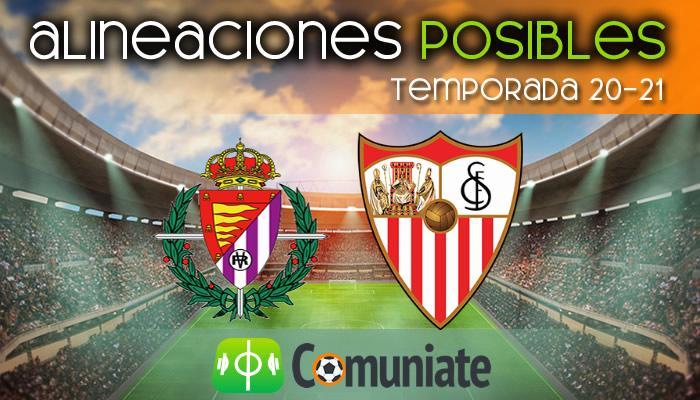 Alineaciones posibles y previa de la Jornada entre Valladolid y Sevilla. Jornada 28.
