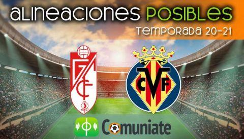 Alineaciones posibles y previa de la Jornada entre Granada y Villarreal. Jornada 29.