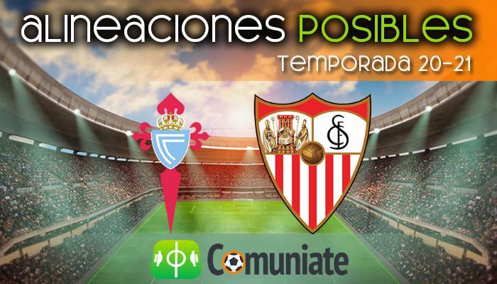 Alineaciones posibles y previa de la Jornada entre Celta y Sevilla. Jornada 30.