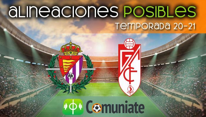 Alineaciones posibles y previa de la Jornada entre Valladolid y Granada. Jornada 30.