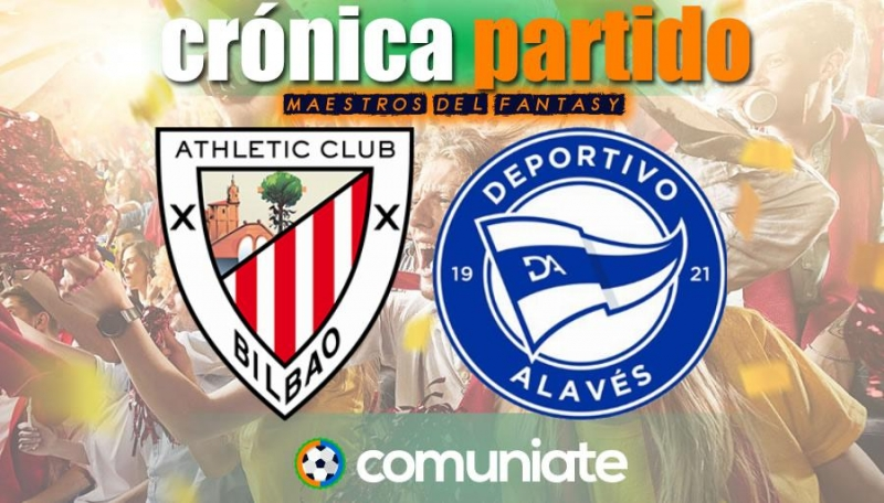 Crónica del partido disputado entre Athletic y Alavés. Jornada 30.