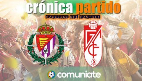 Crónica del partido disputado entre Valladolid y Granada. Jornada 30.