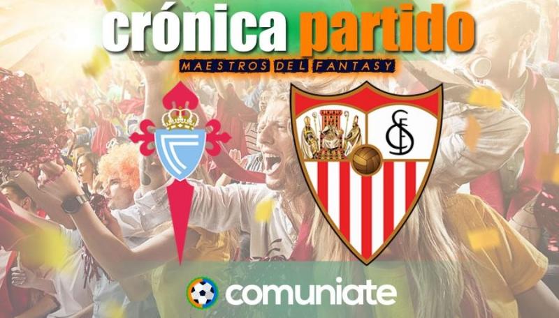 Crónica del partido disputado entre Celta y Sevilla. Jornada 30.