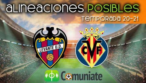 Alineaciones posibles y previa de la Jornada entre Levante y Villarreal. Jornada 33.