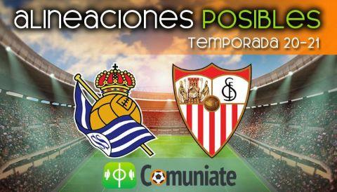 Alineaciones posibles y previa de la Jornada entre Real Sociedad y Sevilla. Jornada 33.