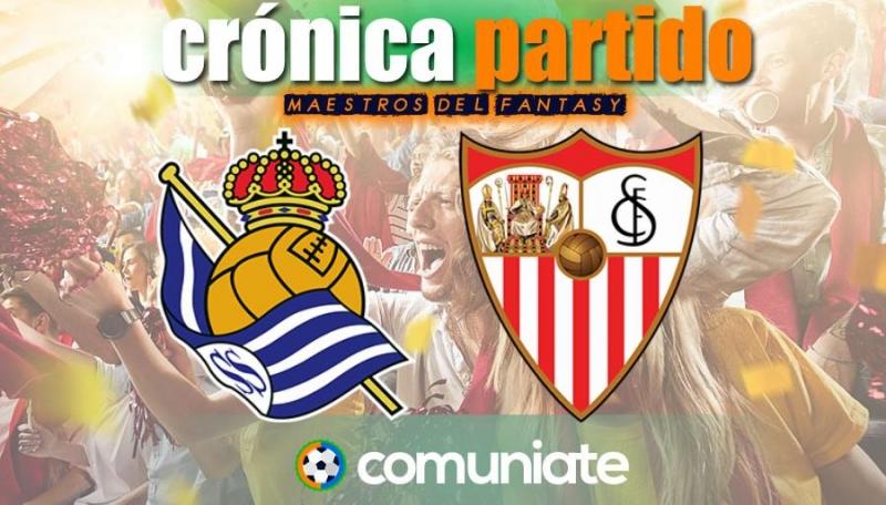 Crónica del partido disputado entre Real Sociedad y Sevilla. Jornada 33.