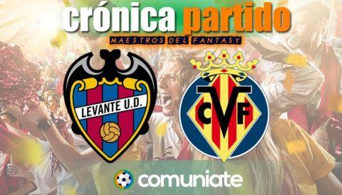 Crónica del partido disputado entre Levante y Villarreal. Jornada 33.