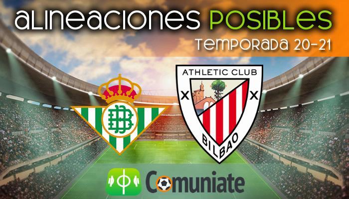 Alineaciones posibles y previa de la Jornada entre Betis y Athletic. Jornada 31.
