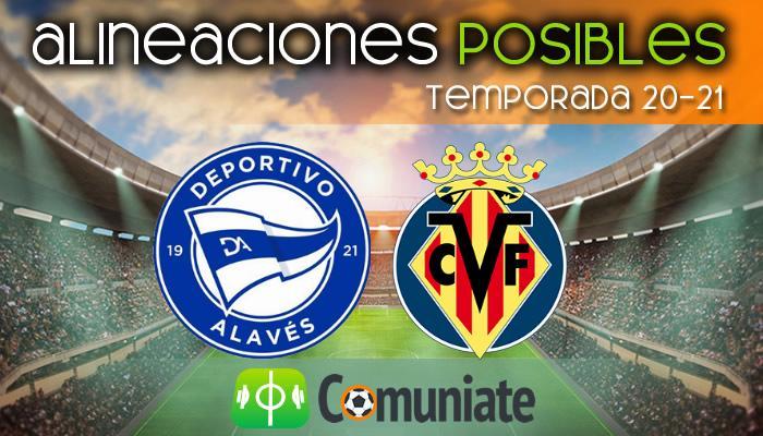 Alineaciones posibles y previa de la Jornada entre Alavés y Villarreal. Jornada 31.