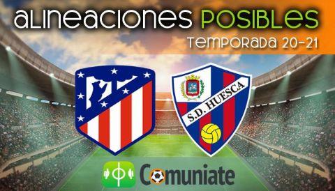 Alineaciones posibles y previa de la Jornada entre Atlético y Huesca. Jornada 31.