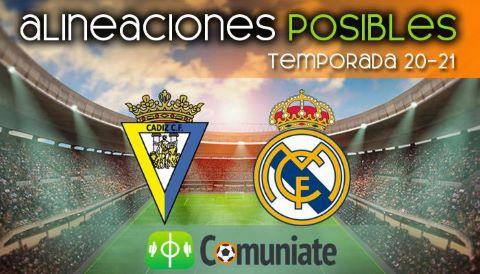Alineaciones posibles y previa de la Jornada entre Cádiz y Real Madrid. Jornada 31.